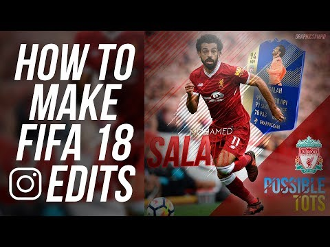 How To Make FIFA 18 Instagram Edits | Photoshop Tutorial