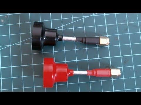 Realacc Mini Pagoda Antenna Flight Test