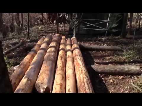 Hauling Logs with the Logrite Junior Arch