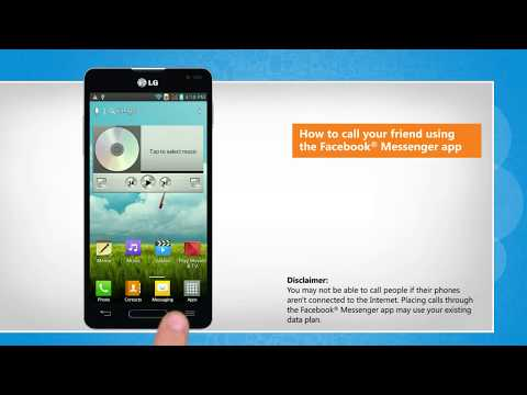 How to make free calls from Facebook® Messenger app