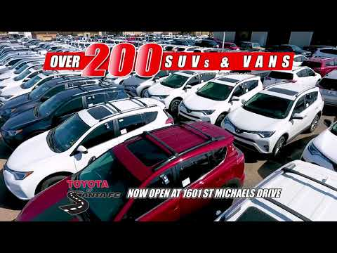Grand Opening Continues 30 at Toyota of Santa Fe | New Mexico Toyota Dealer