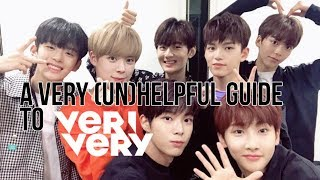 A VERY unHELPFUL GUIDE TO VERIVERY
