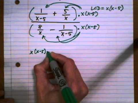 Simplify complex fraction - 2