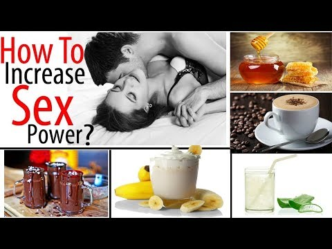 6 Natural Drinks to Improve Sex Power in Men/How to Increase Sex Power