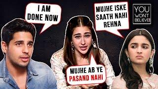 Alia - Sidharth, Sara - Kartik, Janhvi - Ishaan | Stars Who Dated For Film Promotions