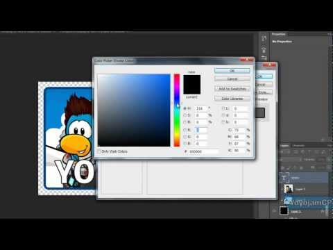 How To Make Club Penguin Twitter Icon - Tutorial