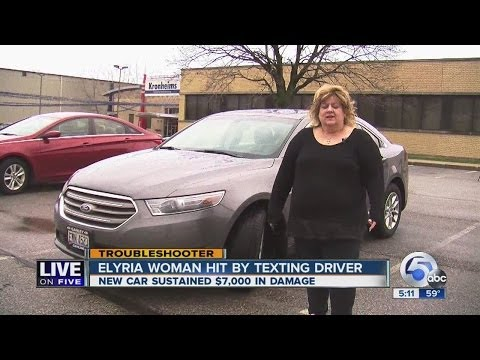 Elyria woman concerned her new car will lose $8,000 in value after accident