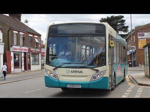 Some Thrash/Kickdown!   Arriva Kent Thameside ADL Enviro 300   101 to Stevenage   3565 (KX09GYS)