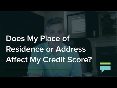 Does My Place Of Residence Or Address Affect My Credit Score? - Credit Card Insider