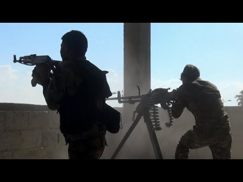 Xxx Mp4 Kurdish Fighters Face Off With Turkish Forces In Northern Syria 3gp Sex