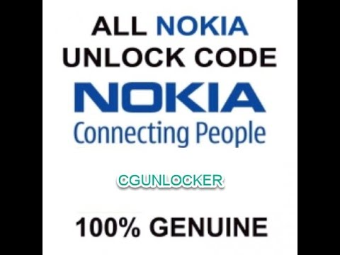 Any Nokia Unlock Code  100% Genuine No error Get Yours Today!