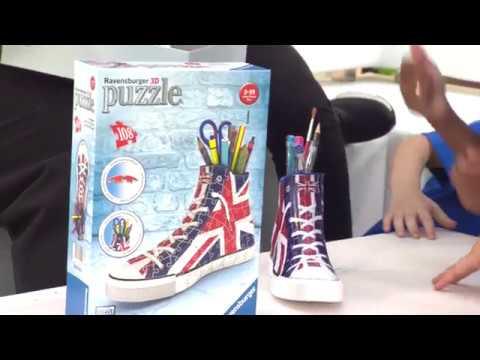Ravensburger Union Jack Sneaker 3D Puzzle
