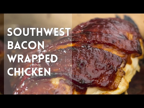 Bacon Wrapped Chicken // Kevin Is Cooking