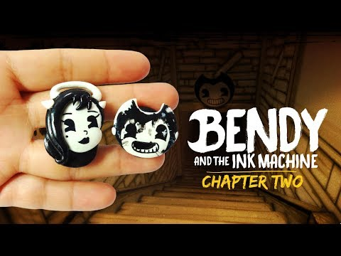 BENDY AND THE INK MACHINE: CHAPTER 2! Polymer Clay Tutorial