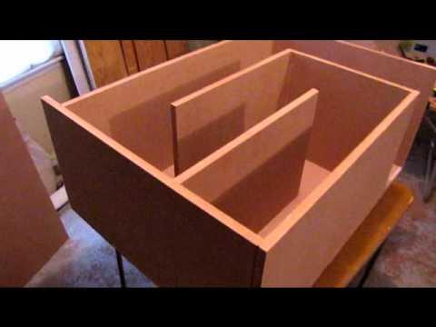 Building the Legendary T-Line Subwoofer Box (Part 1)