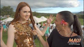 """Malika Interview """"Nebula"""" Karen Gillan at Maui Film Festival 2017"""