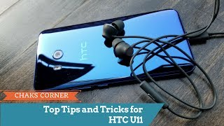 Top Tips and Tricks for the HTC U11