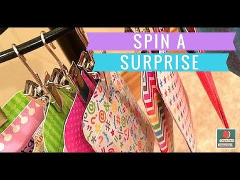 Spinning Wheel of Classroom Rewards!