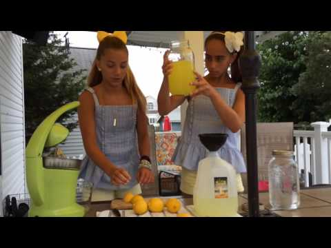 N.J. teens make Lava Lemonade to help rebuild beach town