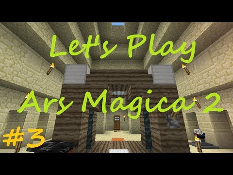 Minecraft - Ars Magica 2 Let's Play - Part 3 - Creating Spells