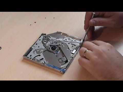 How To Clean Slim Slot-In DVD Laser From Dust
