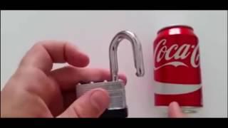 Aprire lucchetto con lattina - pochi secondi - risposta bis a l