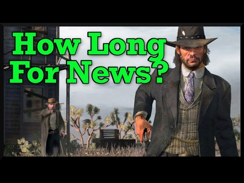 When We Can Be Seeing News On Red Dead Redempion (Timeline For Future RDR2 Trailers)