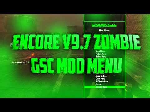 Black Ops 2 (PS3) (1 19) Zombies GSC Mod Menu EnCoRe 9 7 (BETA
