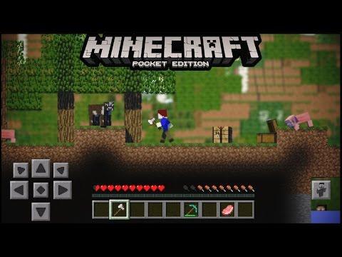 Minecraft pe 2d version Adventure Map No Mods | Minecraft pe 2.5 d | MCPE ( pocket edition )