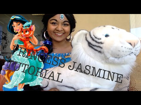 Princess Jasmine  - Cosplay Make Up + Costume