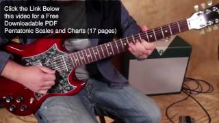 The coolest trick to mix pentatonic scales ( major & minor )