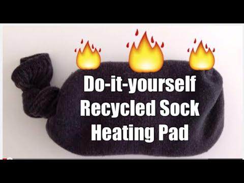 DIY Heating Pad in Seconds No-SewTutorial for Period Pain Cramps