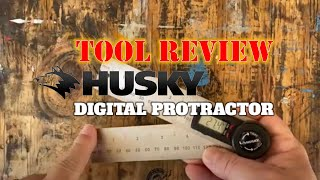 Tool Review: The Husky Digital Protractor