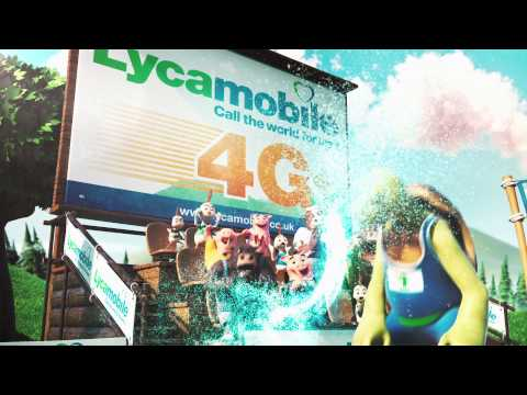 Lycamobile UK - 4G Advertisment