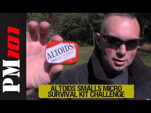 Altoids Smalls Micro Survival Kit Challenge - Preparedmind101
