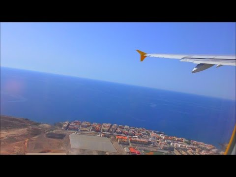 Monarch Airbus A321 Departure From Tenerife South
