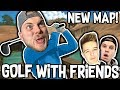 CRAZY NEW 'ANCIENT' MAP!! - GOLF WITH FRIENDS! W/Ash & James