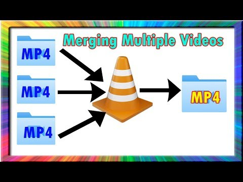 How to merge multiple video files into one using vlc media player (100% genuine)