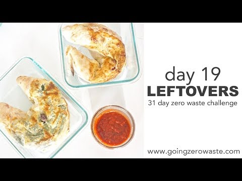 Day 19: Bring Home Leftovers / 31 Day Zero Waste Challenge