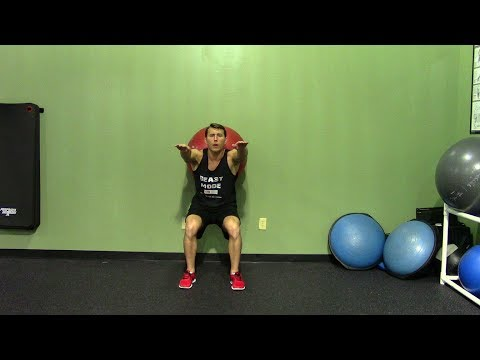 Beginner Legs Workout in the Gym - HASfit Easy Leg Workouts - Beginner Leg Exercises