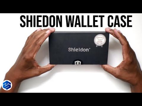 SHIELDON Genuine Leather Premium Galaxy S9 Wallet Case