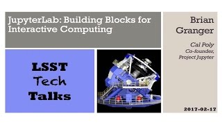 JupyterLab: Building Blocks for Interactive Computing