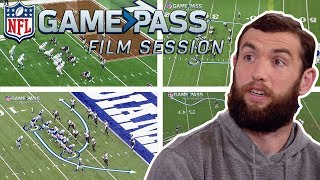 Andrew Luck Breaks Down Colts Top Offensive Plays | NFL Film Sessions