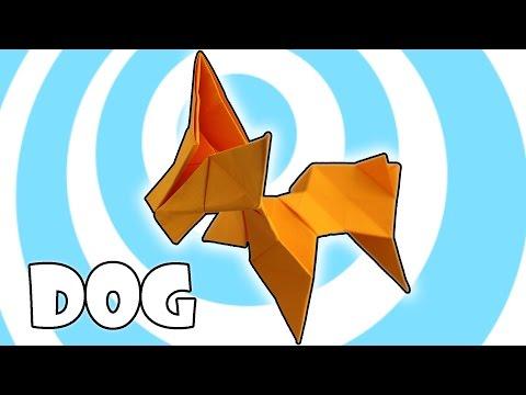 Modular Origami Dog Instructions (3 units )