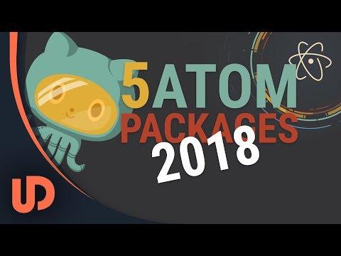 Die 5 besten Atom Packages 2018? [TUTORIAL]