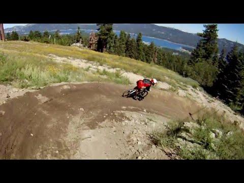 Hardtail Downhill Mountain Biking