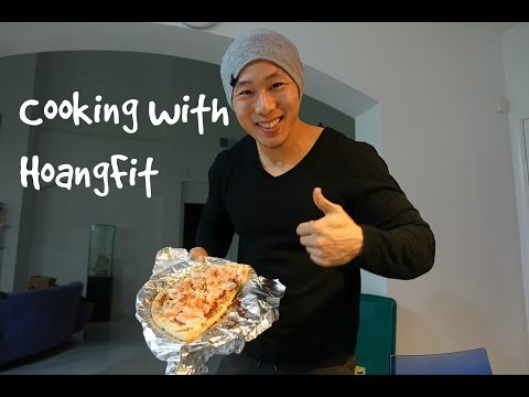 Cooking With HoangFit   Seafood Pizza
