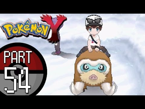 Pokemon X and Y - Part 54: Route 17 and Anistar City | Mamoswine Rides and The Anistar Sundial!