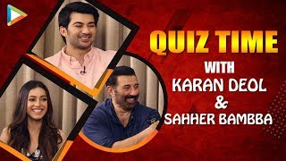 AMAZING QUIZ - How Well Do Karan & Sahher Know 21st Century Romantic Films? | Sunny Deol