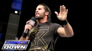 Seth Rollins calls out Demon Kane: SmackDown, Oct. 1, 2015
